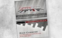 Cummins Flooring Business Card