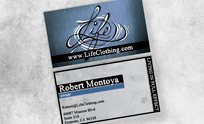 Life Clothing Business Card