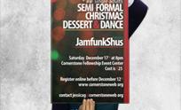 Semi-Formal Christmas Poster