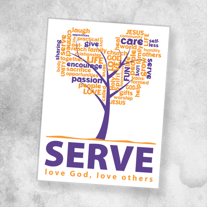 Serve Logo : Shawn Cummins Portfolio