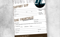 Young Life Support Slip