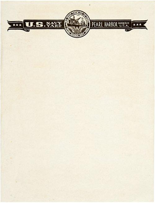 vintage letterhead layouts